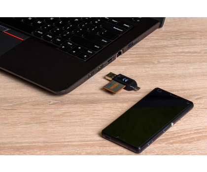 SHIRU SD/MicroSD z funkcją OTG-261701 - Zdjęcie 6