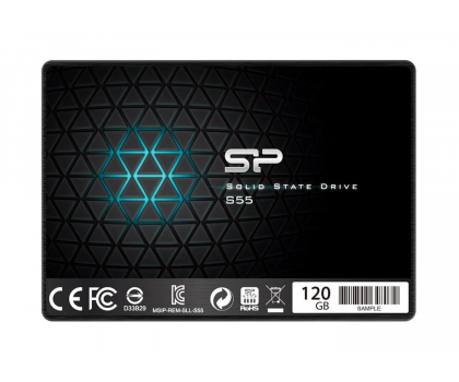 Silicon Power 120GB 2,5'' SATA SSD S55 7mm-256719 - Zdjęcie 1