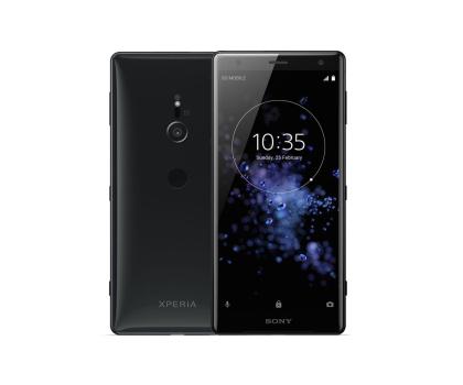 Sony Xperia XZ2 H8266 Dual SIM Płynna czerń-412875 - Zdjęcie 1