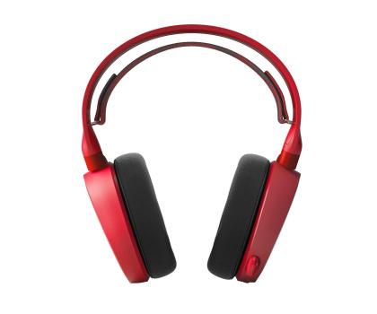 SteelSeries Arctis 3 Czerwone-385684 - Zdjęcie 2
