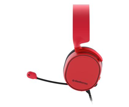 SteelSeries Arctis 3 Czerwone-385684 - Zdjęcie 3