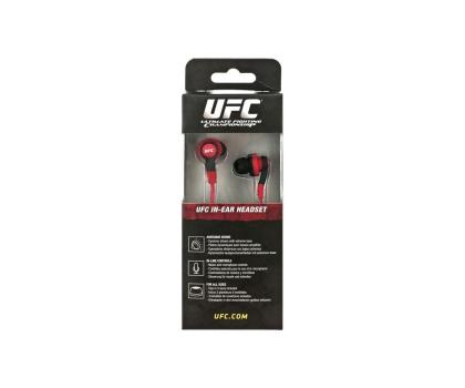 SteelSeries UFC douszne z mikrofonem czerwono-czarne-121277 - Zdjęcie 2