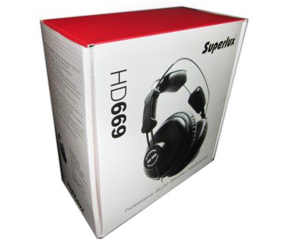 Superlux HD669 czarne-253117 - Zdjęcie 4