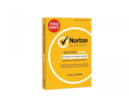 Symantec Norton Antivirus Basic 1st. (12m.)-365517 - Zdjęcie 1