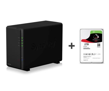 Synology DS218play 2TB (2xHDD, 4x1.4GHz, 1GB, 2xUSB, 1xLAN)-395626 - Zdjęcie 1