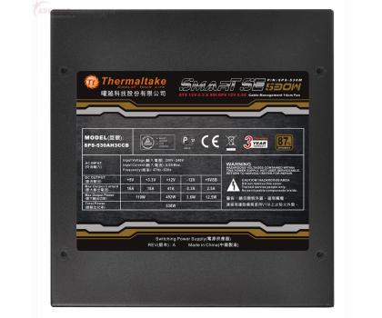 Thermaltake 530W SMART SE Modular 80+ Bronze BOX-215914 - Zdjęcie 3