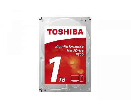 Toshiba 1TB 7200obr. 64MB P300 OEM-322520 - Zdjęcie 1