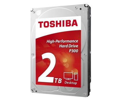 Toshiba 2TB 7200obr. 64MB P300 OEM-339357 - Zdjęcie 2
