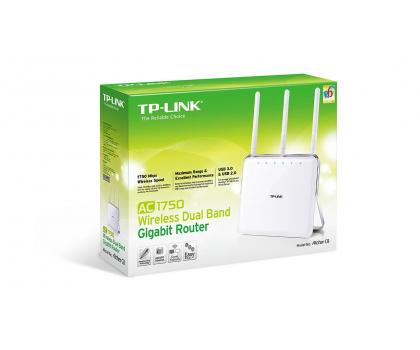 TP-Link Archer C8 (1750Mb/s a/b/g/n/ac) 2xUSB DualBand-208839 - Zdjęcie 4