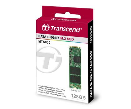 Transcend 128GB SSD M.2 2280-250396 - Zdjęcie 3