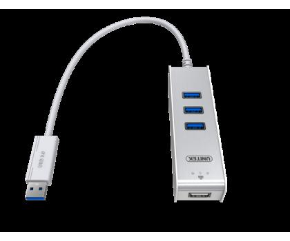 Unitek HUB 3 x USB 3.0 + KVM ( 2 komputery na raz)-387021 - Zdjęcie 2