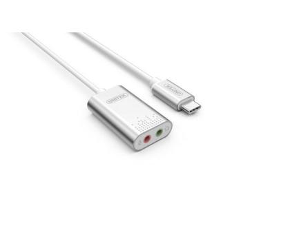 Zewnętrzna karta dźwiękowa Unitek Y-248 USB typ C za 10zł
