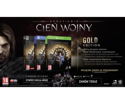 Warner Śródziemie: Cień Wojny Gold Edition-355818 - Zdjęcie 2