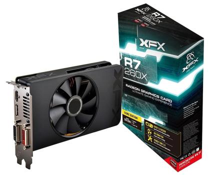 XFX Radeon R7 260X 2048MB Core Edition BULK/OEM-227759 - Zdjęcie 1