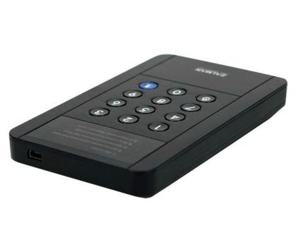 Zalman ZM-SHE350 USB 3.0 szyfrowanie czarna-316513 - Zdjęcie 3