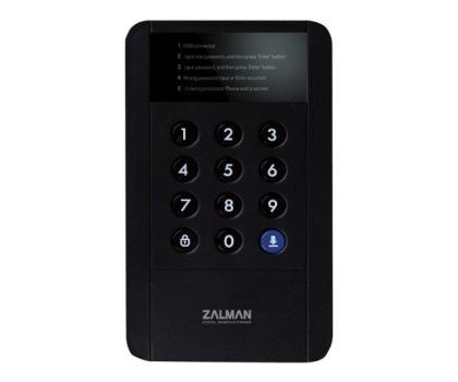 Zalman ZM-SHE350 USB 3.0 szyfrowanie czarna-316513 - Zdjęcie 1