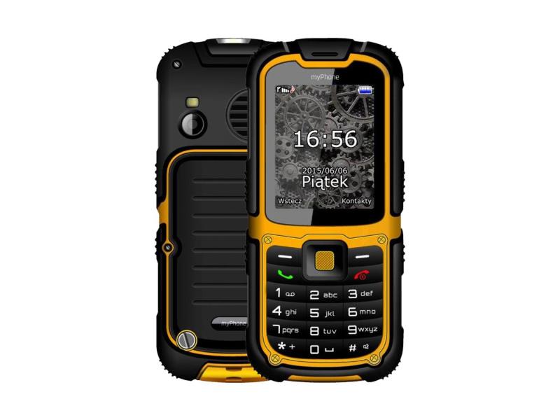 myPhone HAMMER 2 pomarańczowy - Smartfony i telefony - Sklep komputerowy -  x-kom.pl 7d9f64e34be