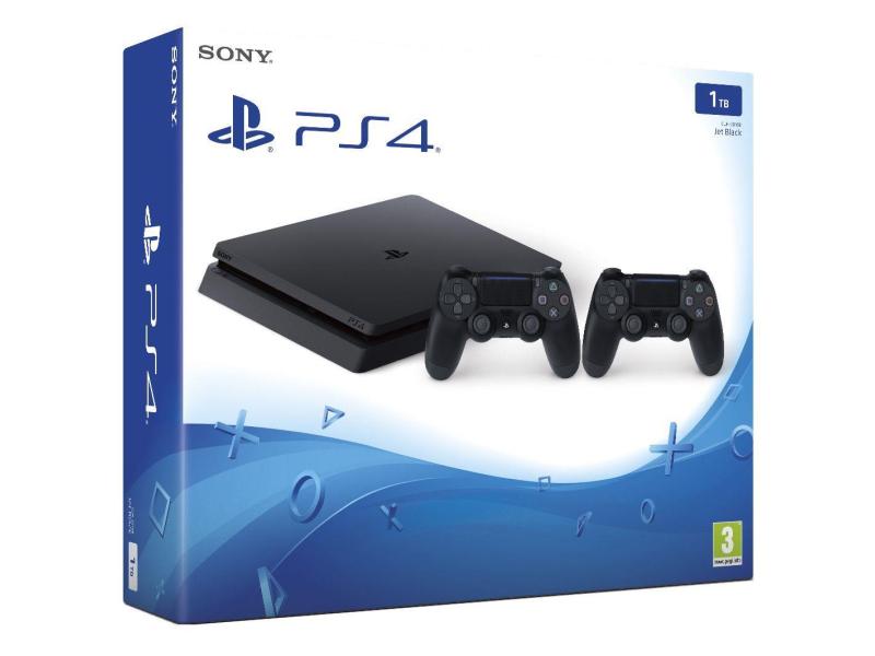 Sony PlayStation 4 Slim 1TB + Pad
