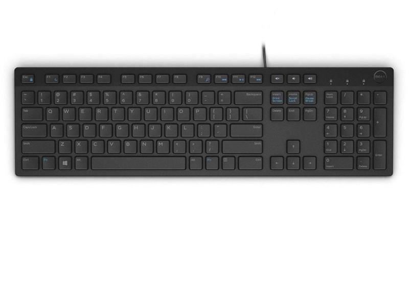 Dell KB216-B QuietKey USB (czarna)