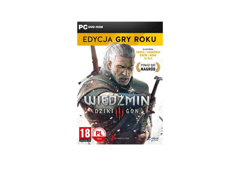 PC Wiedźmin 3 Edycja Gry Roku GOTY