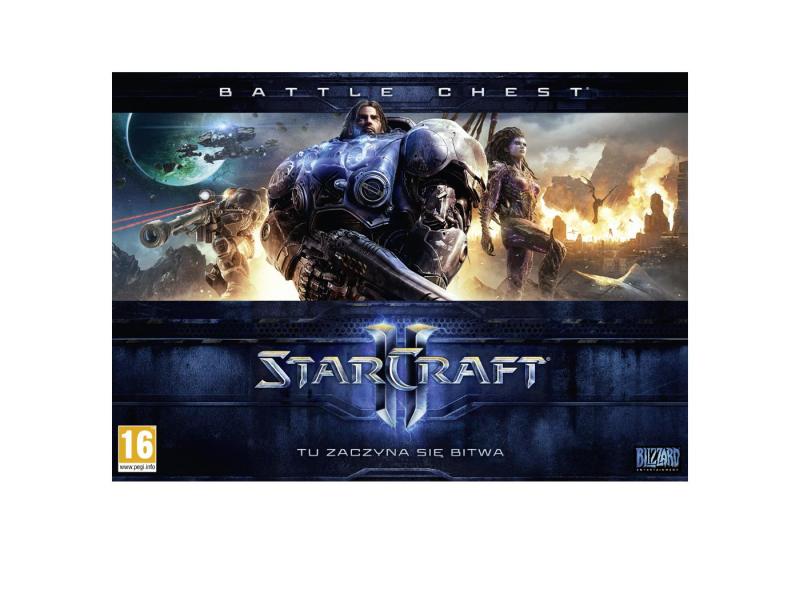 PC STARCRAFT 2 BATTLECHEST (WoL+HoS+LotV)