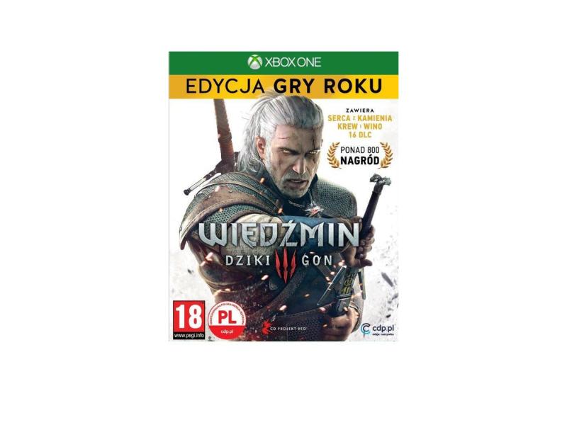 Xbox Wiedźmin 3 Edycja Gry Roku GOTY