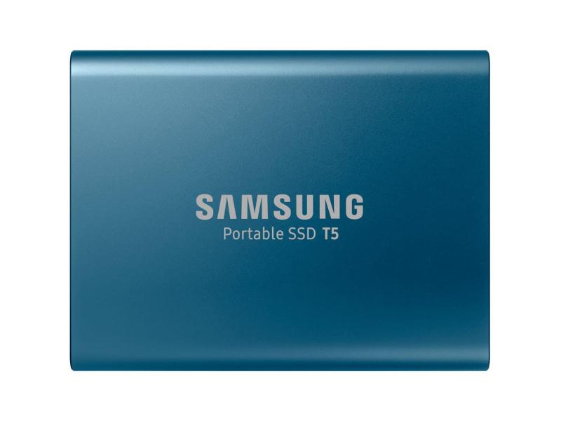 Samsung Portable SSD T5 500GB USB 3.2 Gen. 1 Niebieski