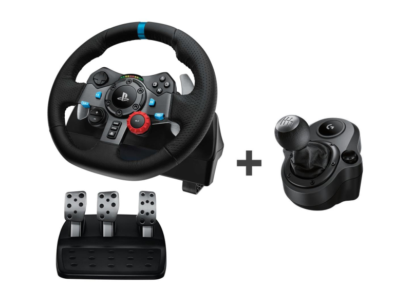 Logitech G29 + Shifter PC/PS3/PS4