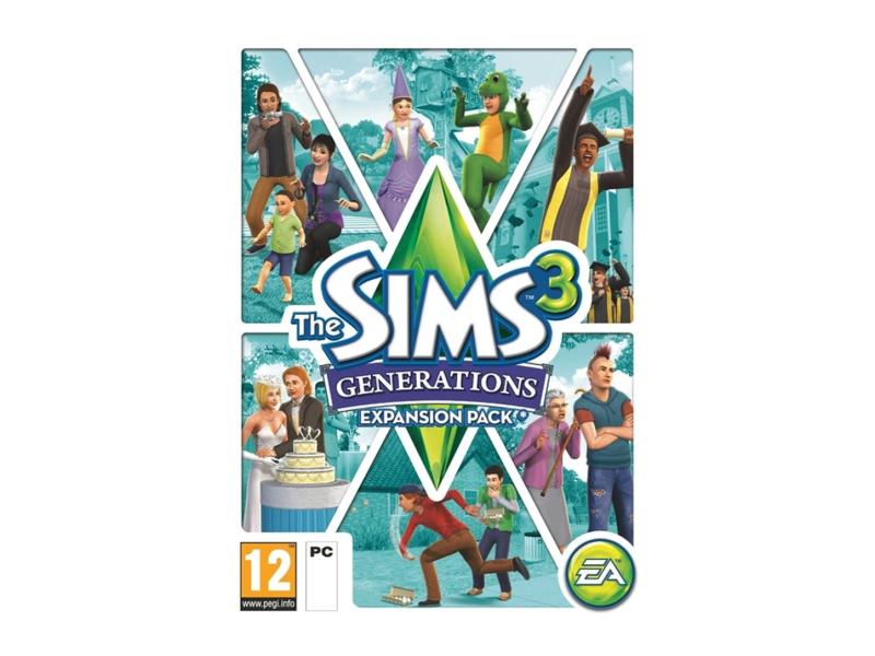 PC The Sims 3: Generations ESD Origin