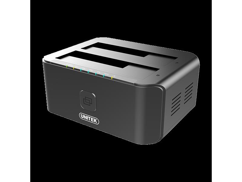 Unitek Stacja dokująca 2 x HDD USB 3.0 z klonowaniem