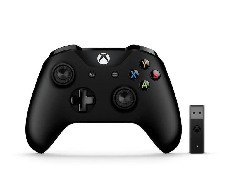 Microsoft Xbox One S Wireless Controller + Adapter