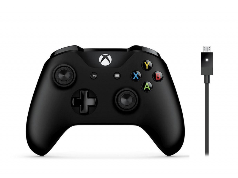Microsoft Xbox One S Wireless Controller + Kabel PC