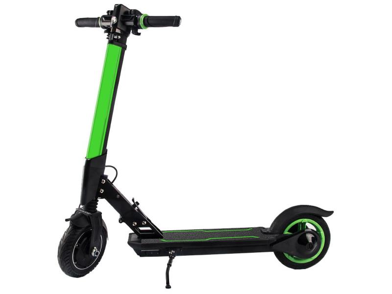 Koowheel E1 Zielona kolorowe oświetlenie