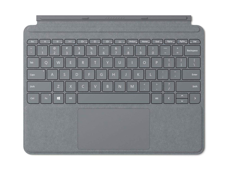Microsoft Signature Type Cover do Surface Go Platynowy