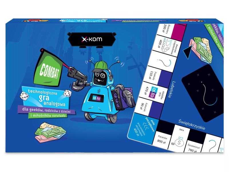 x-kom Technologiczna gra analogowa