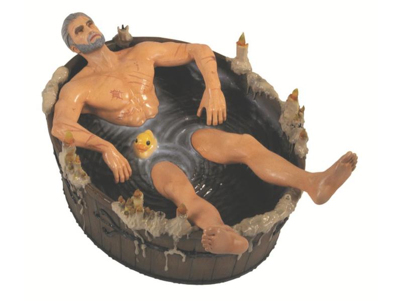 CDP Figurka - Wiedźmin - Geralt w wannie
