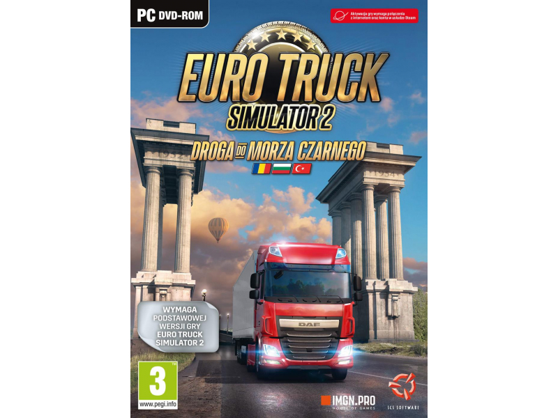 PC Euro Truck Simulator 2: Droga do Morza Czarnego - 527421 - zdjÄcie 2