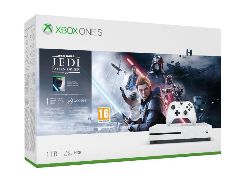 Microsoft Xbox One S + STAR WARS: Upadły Zakon