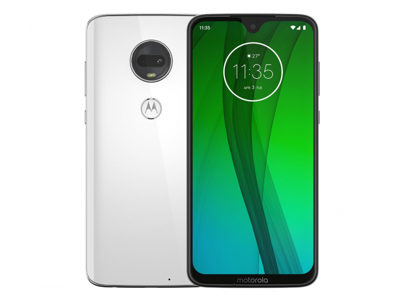 Motorola Moto G7 4/64GB Dual SIM Clear White