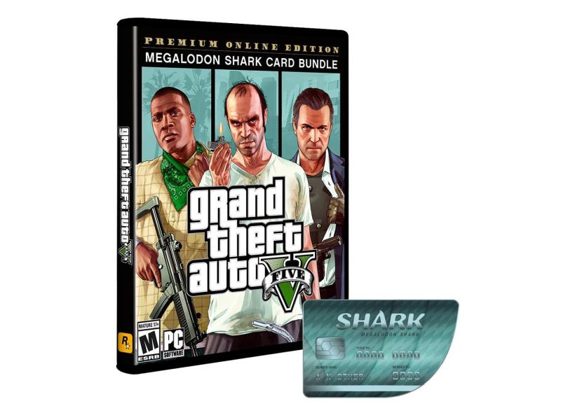 PC GTA V Premium Online Edition&Megalodon Shark ESD