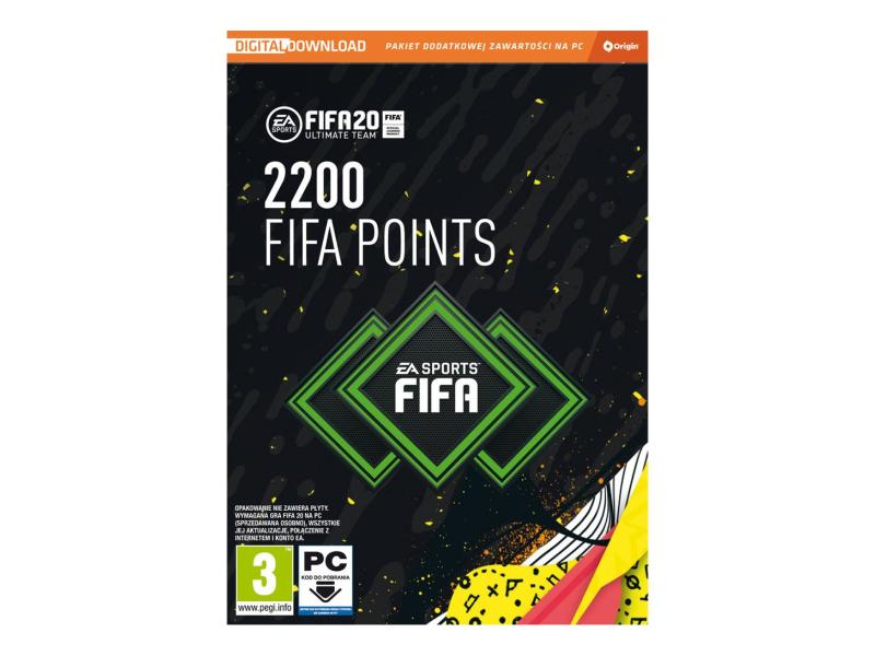 PC FIFA 20 - 2200 FUT Points ESD Origin