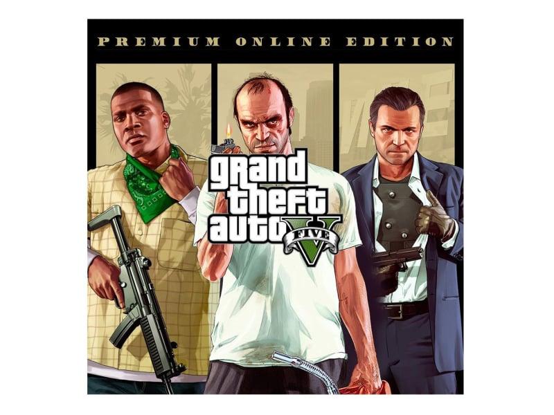 PC GTA 5 - Premium Online Edition ESD RSC