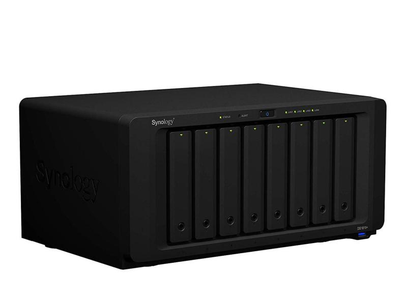 Synology DS1819+ (8xHDD, 4x2.1GHz, 4GB, 4xUSB, 4xLAN)