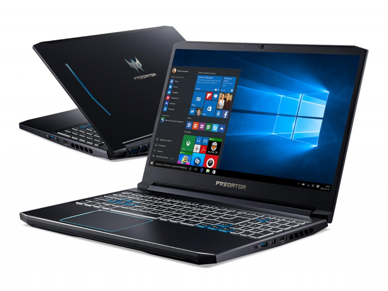 Acer Helios 300 i7-9750H/16GB/512/Win10 144Hz