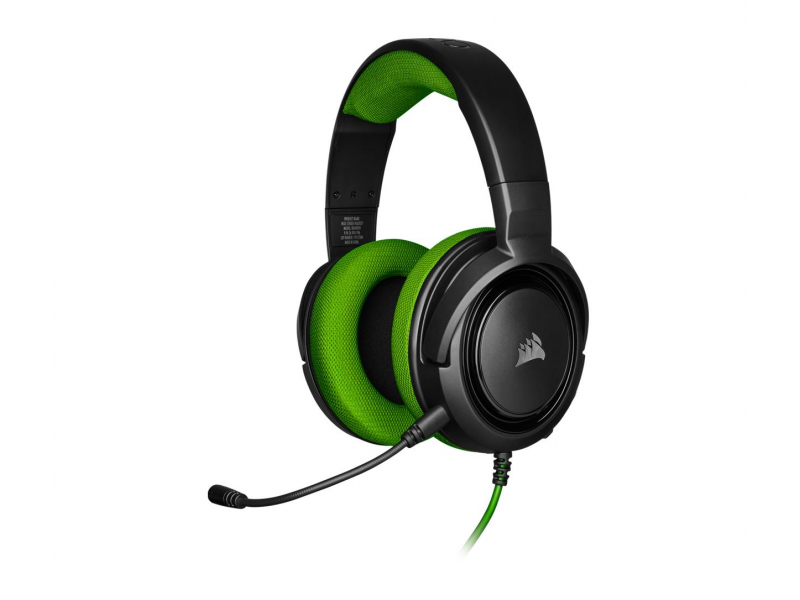 Corsair HS35 Stereo Gaming Headset (zielony)