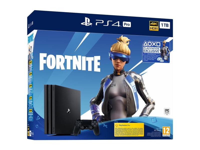 Sony PlayStation 4 PRO 1TB + Fortnite DLC