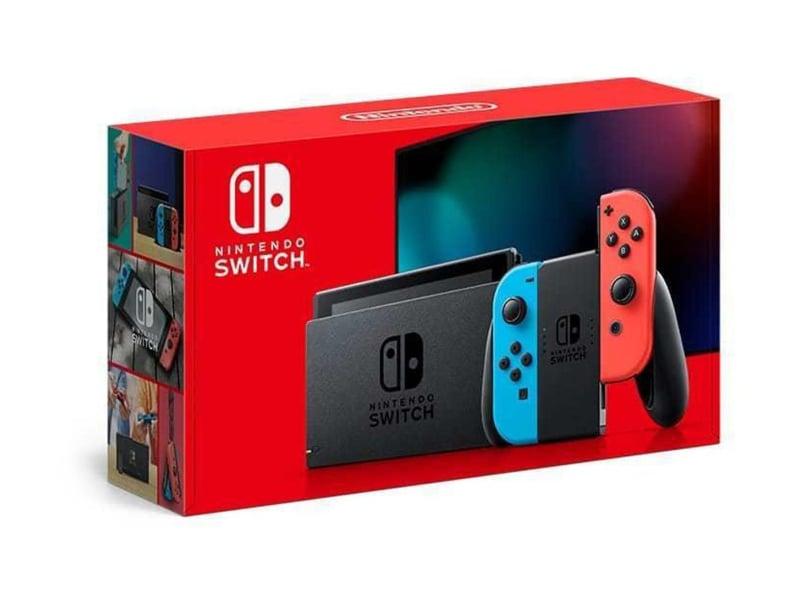 Nintendo Switch Joy-Con - Czerwony / Niebieski