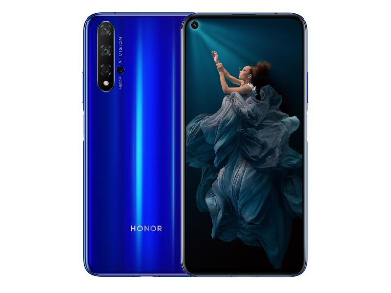 Honor 20 Dual SIM 6/128GB niebieski - 503115 - zdjęcie 1