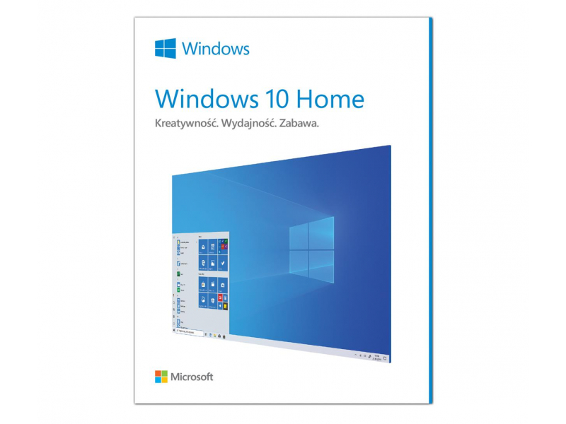 Microsoft Windows 10 Home PL 32/64bit BOX USB