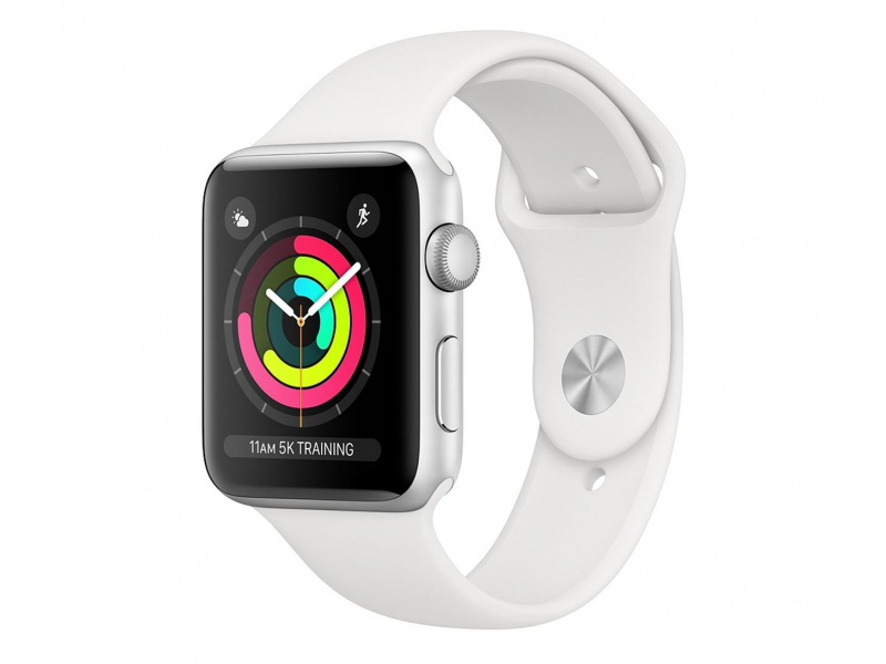 Apple Watch 3 38/Silver Aluminium/White GPS